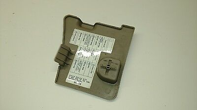 94 95 96 97 Accord OEM Tan FUSE BOX COVER trim lid bezel ...  Fuse Box on