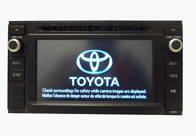 TOYOTA Tacoma Factory OEM Stereo AM FM SAT Radio CD Player