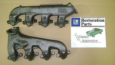 Exhaust Manifolds BB 67 68 69 70 Camaro GM License 68-70 Chevelle