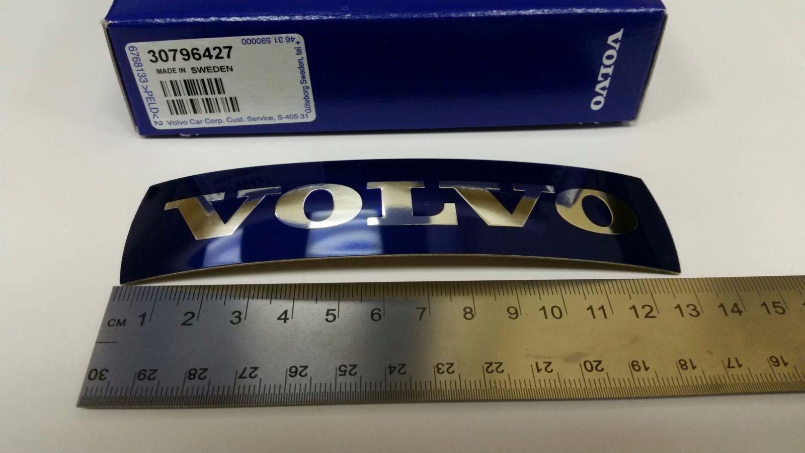 Genuine Volvo Grille Emblem Badge 30796427