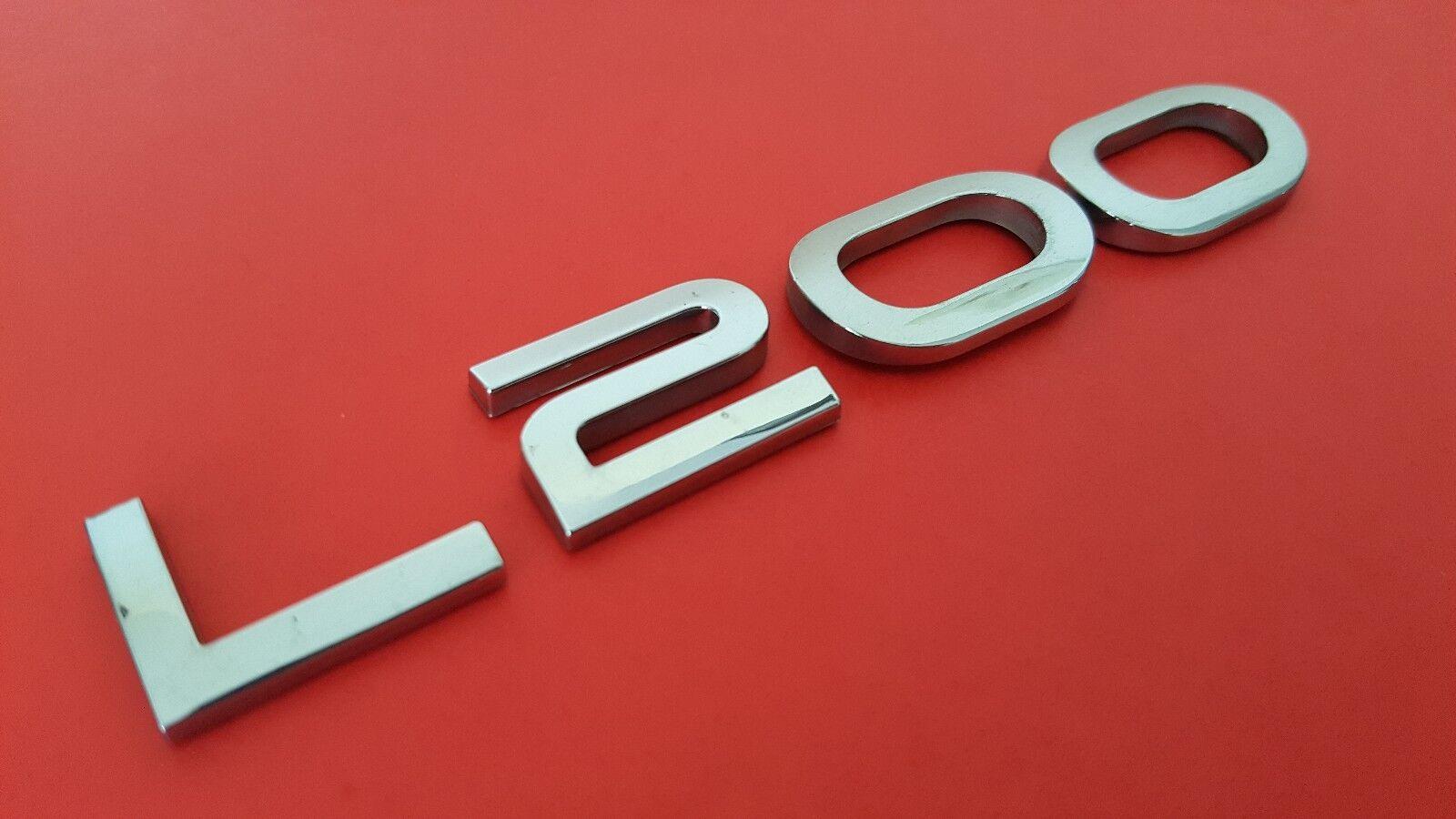 Used 2002 Saturn L200 L 200 Rear Chrome Oem Emblem Logo Sign 00 01
