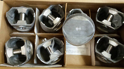 FORD 351 WINDSOR FORGED PISTONS DOME L2442F STANDARD BORE