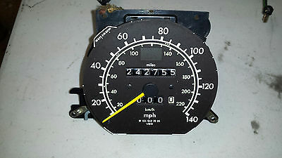 Mercedes 1245423965 W124 E300D Speedometer 1995 OM606 ASD 2 87 ratio