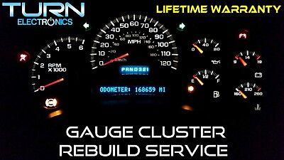 gmc gauge cluster rebuild