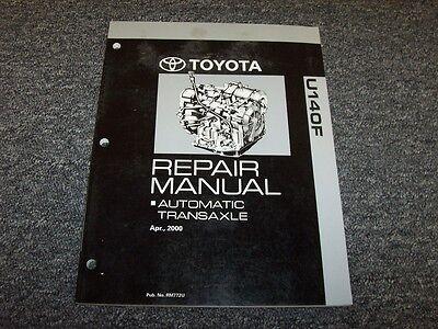 2009 2010 2011 Toyota Corolla Matrix A140f Transmission