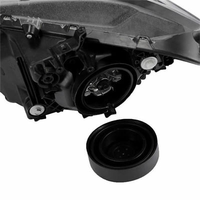 2Pcs Car Headlight Rubber Seal Cap Dust Cover Retrofit 55mm/70mm