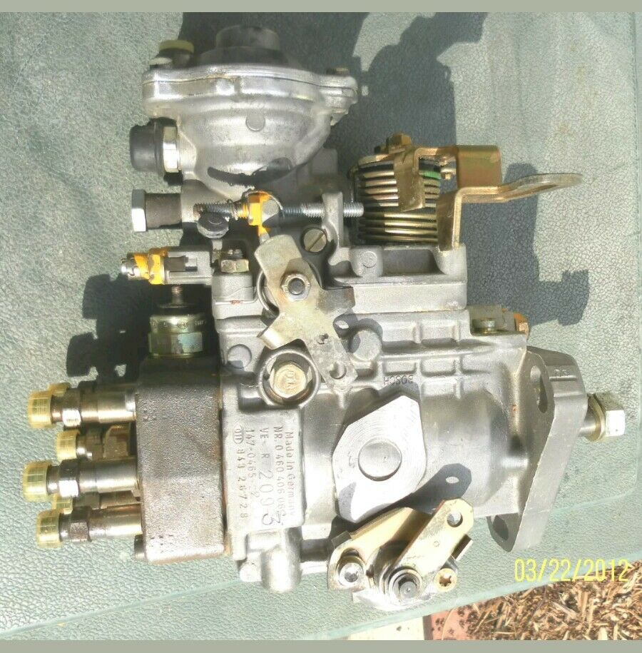 BOSCH VE 6 CYL FUEL INJECTION PUMP 0460406062 ONAN 147-0465-22 NOS For Sale
