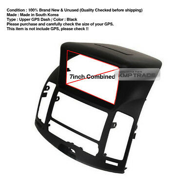GPS Dash Center Fascia Audio Integrated Cover Kit For