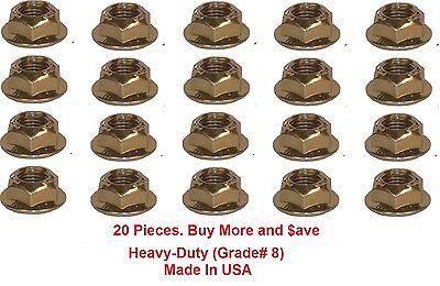 Torque Converter Nuts Ford A4LD C3 C4 C5 C6 AOD E4OD HeavyDuty 3/8