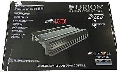 Orion XTR25001DZ XTR Series Class D Car Amplifier 2500 Watts
