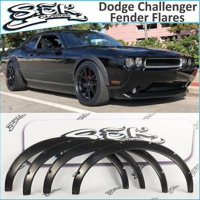 Dodge Challenger Srt 08 16 Fender Flares Set Wide Body Kit Abs