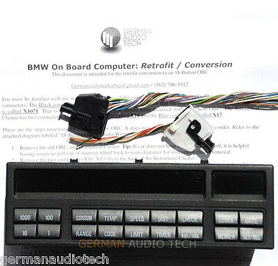 Fantastic Bmw E36 18 Button On Board Computer Check Control Obc Conversion Wiring Cloud Hisonuggs Outletorg