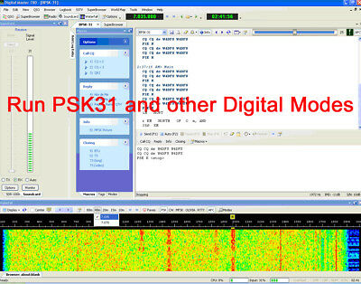 Xiegu/Wouxon X108G Fully Isolated USB Digimode Interface  PSK31, FT8