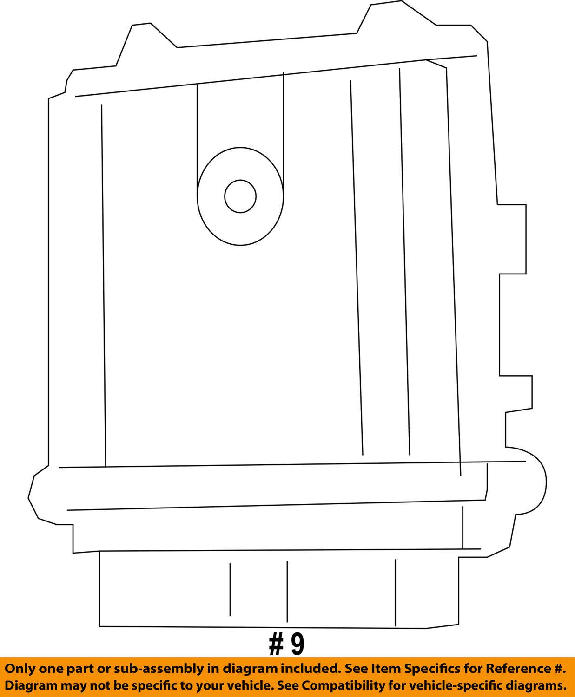 Pcm Engine Diagram Challenger Wire Data Schema Control Module Wiring Chrysler Oem Ecm Ecu Computer 5150608ac Rh Restomods Com Circuit
