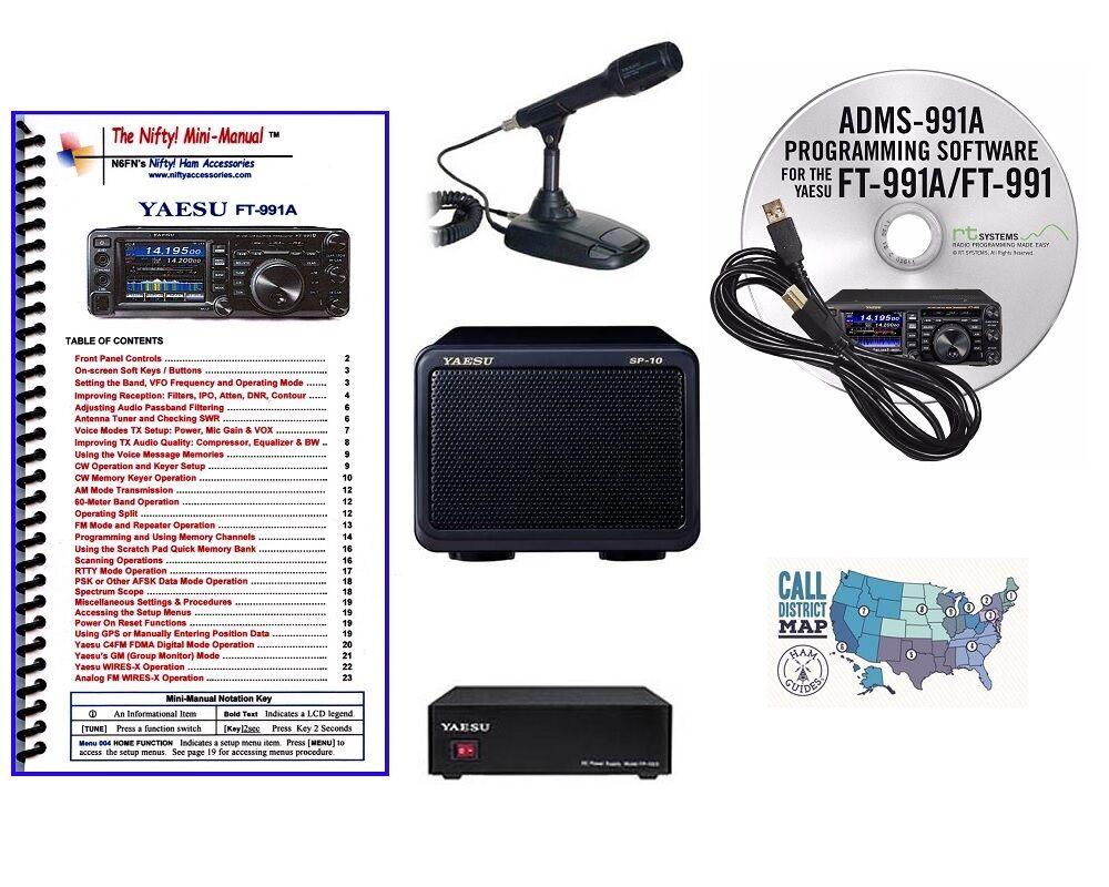 Yaesu FT-991A HF/VHF/UHF All Mode Transceiver Accessory