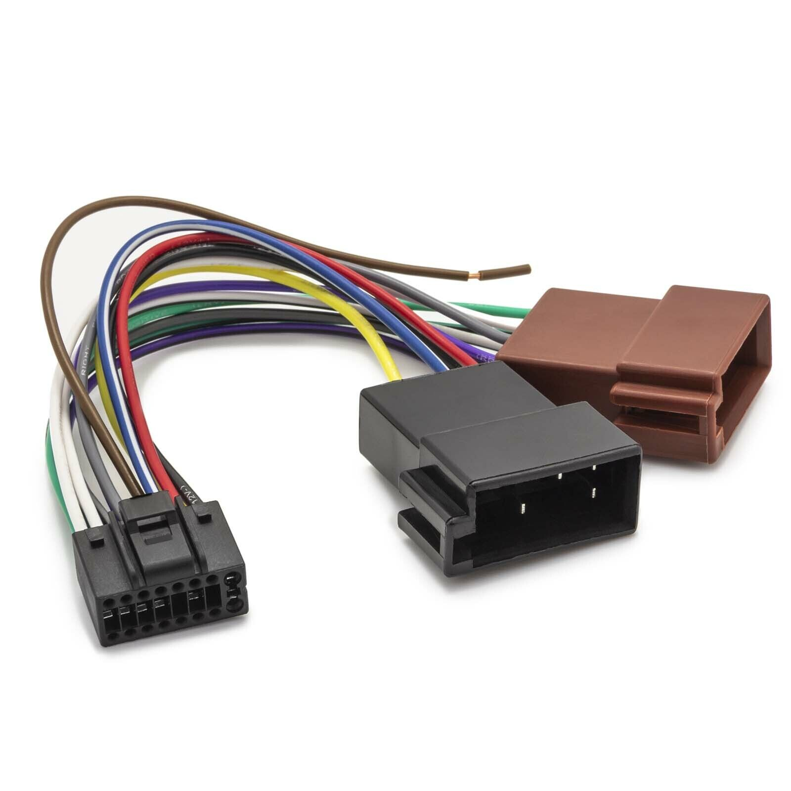 Jvc Kddv 5000 5101 Car Radio Stereo Iso Wiring Loom Looms For Cars Adapter Cable Plug And Play Din 16 Pin