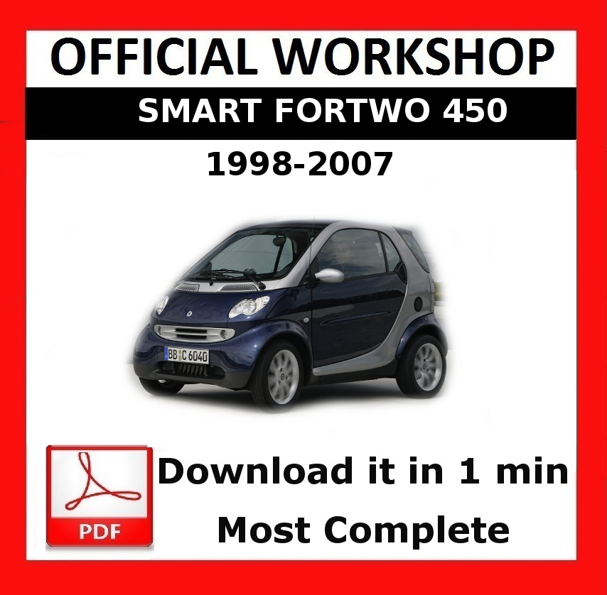 official workshop manual service repair smart fortwo 450 451 1998 rh restomods com 2005 smart fortwo owners manual 2005 smart car owners manual