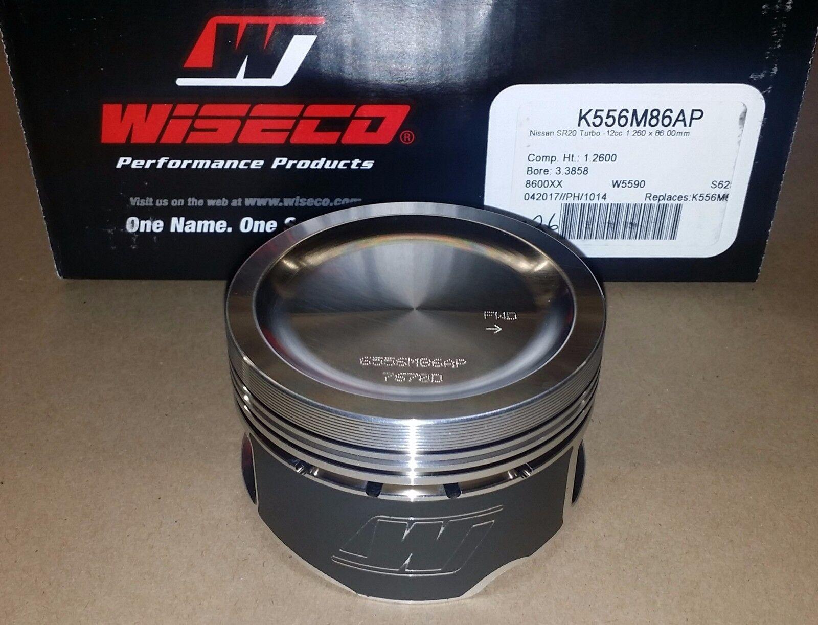 Wiseco K556M86AP Pistons for Nissan SR20DET 86mm 9:1 SR20 S13 S14