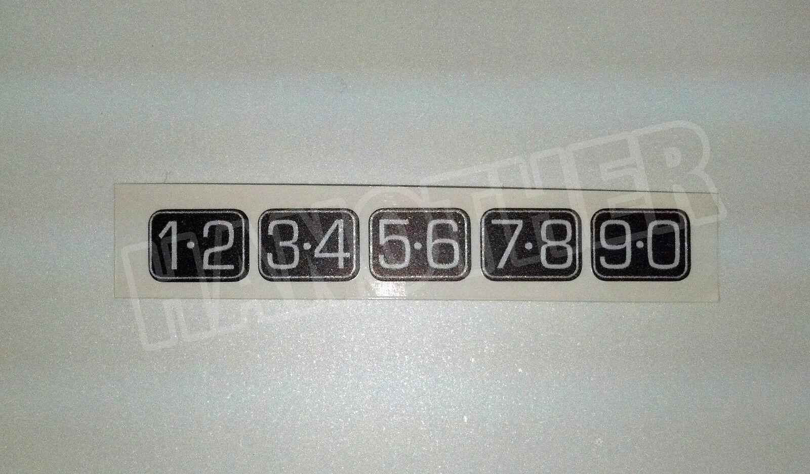 Ford Keyless Entry Door Keypad Sticker Decals Navigator F150