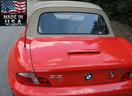 Bmw Z3 M Roadster Convertible Clear Plastic Rear Window For Sale