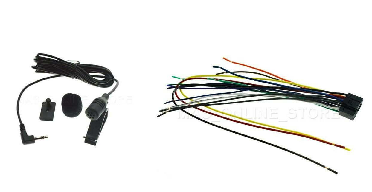 WIRE HARNESS & MIC FOR KENWOOD DNX-690HD DNX690HD *SHIPS ... on