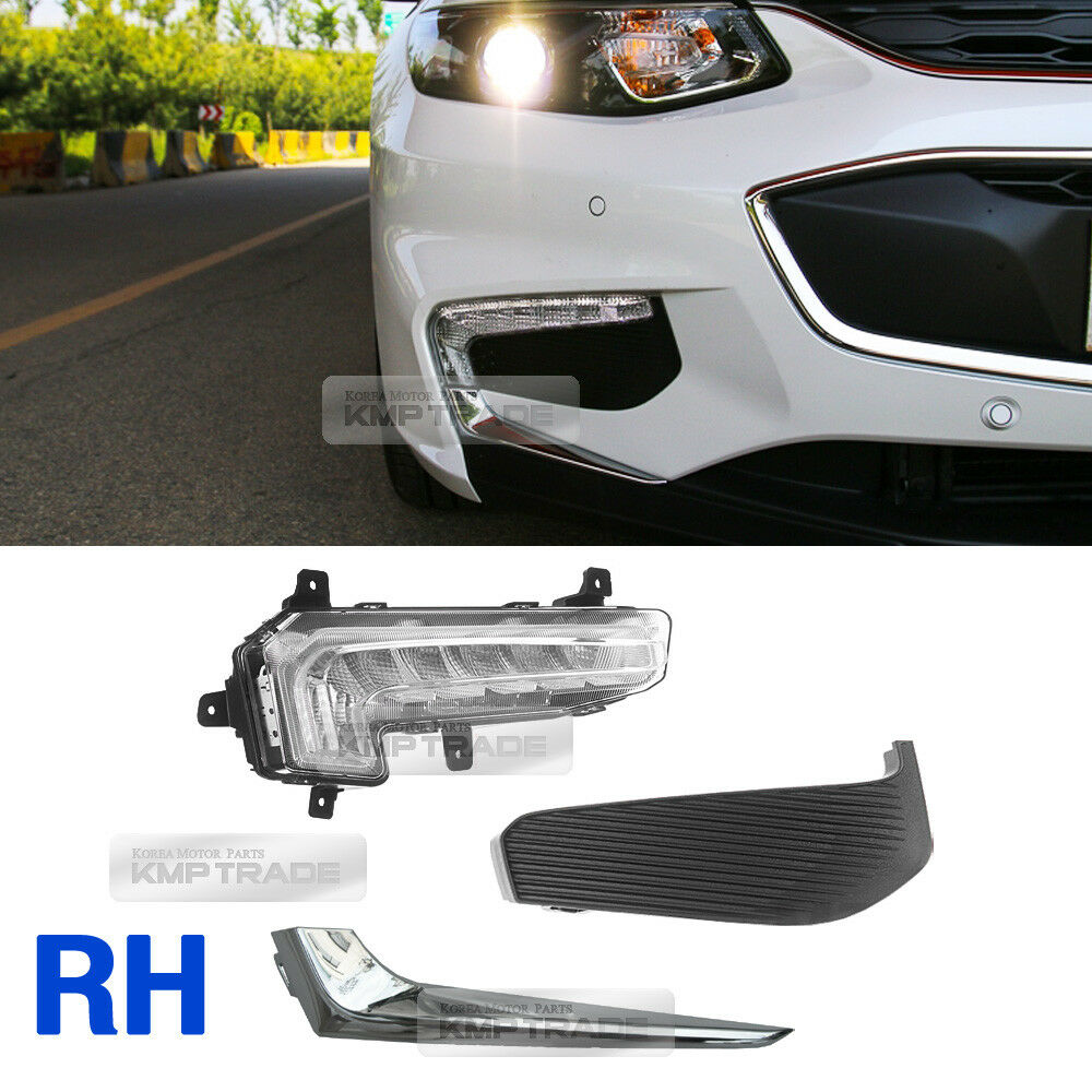 OEM Parts LED Fog Lamp Light DRL Assy 3Pcs RH For
