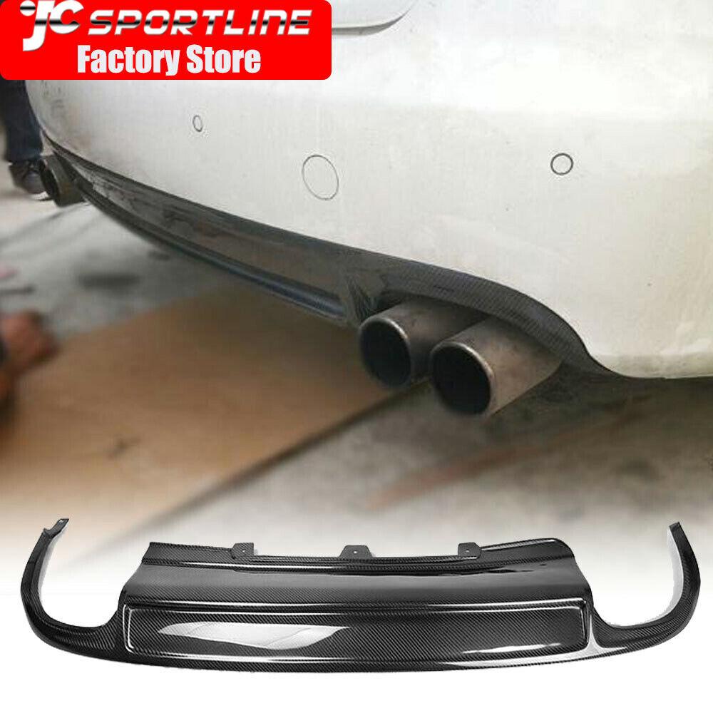 For Audi A4 B8 Non Sline 09 12 Rear Bumper Diffuser Lip Body Kit
