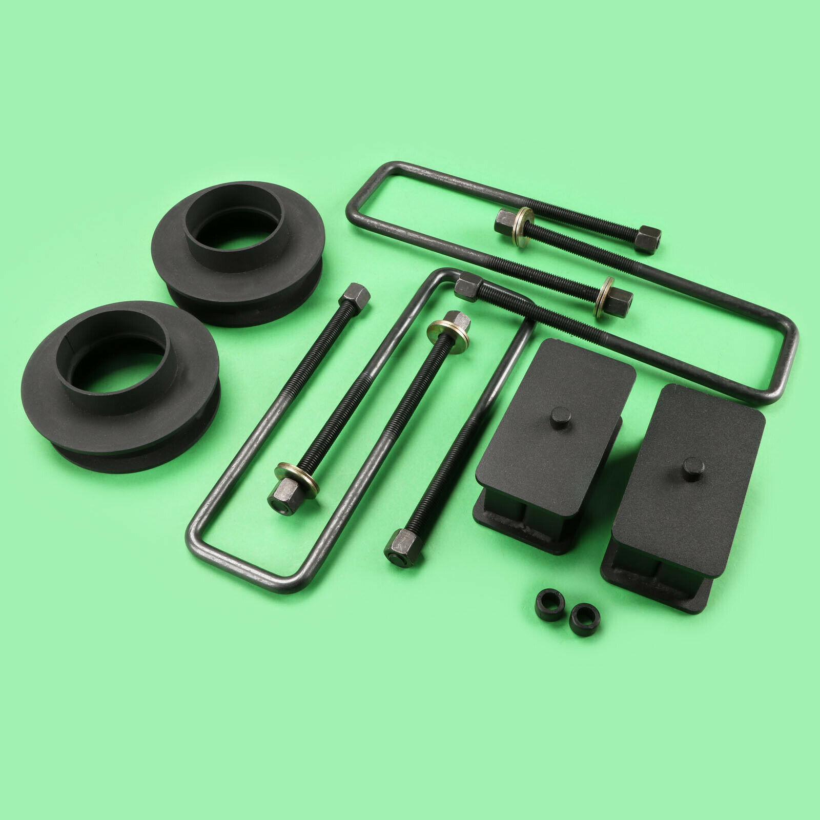 """88-98 GMC Chevy 3//4 1 Ton Truck  2WD 8-Lug Steel Lift Kit Front 2.5/"""" Rear 1/"""""""