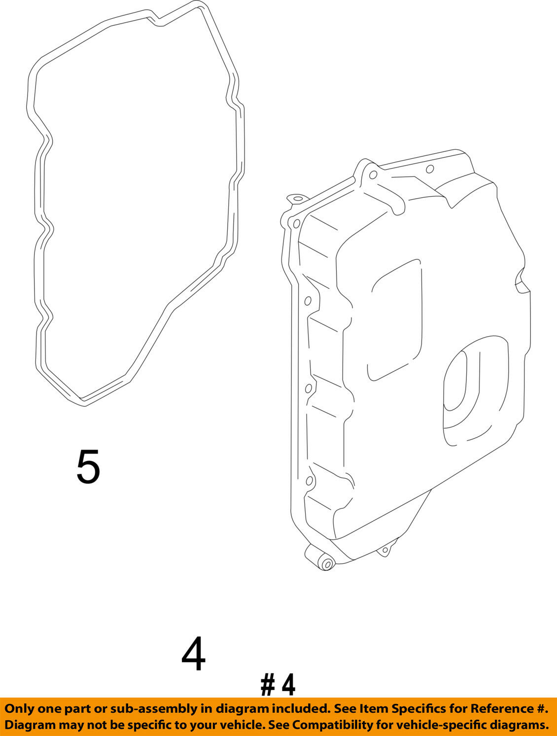 Ford oem transaxle parts side cover cv6z7g004a for sale