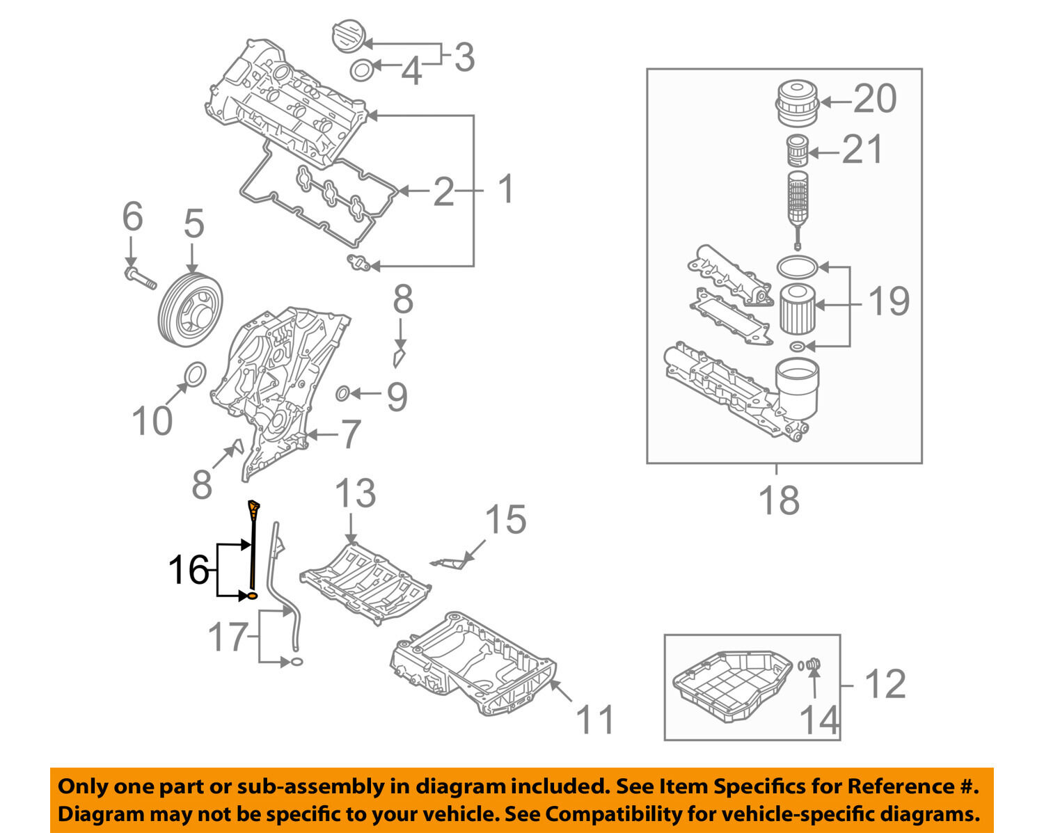 Hyundai Oem 06 10 Sonata Engine Oil Fluid Dipstick 266113c100 For Sale 2011 Genesis Diagram