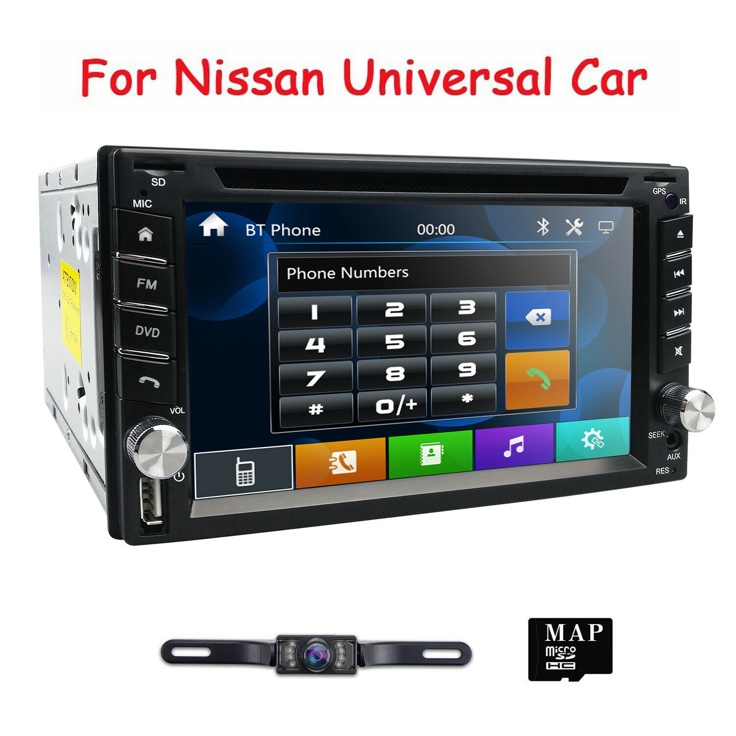 HIZPO Car Stereo GPS DVD For Nissan 350Z Frontier Pathfinder Versa