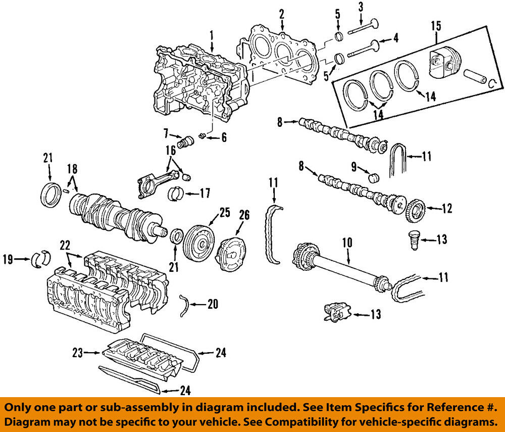 Porsche Oem 07 08 Boxster Engine Piston Ring 98710305302 For Sale Cayman Diagram