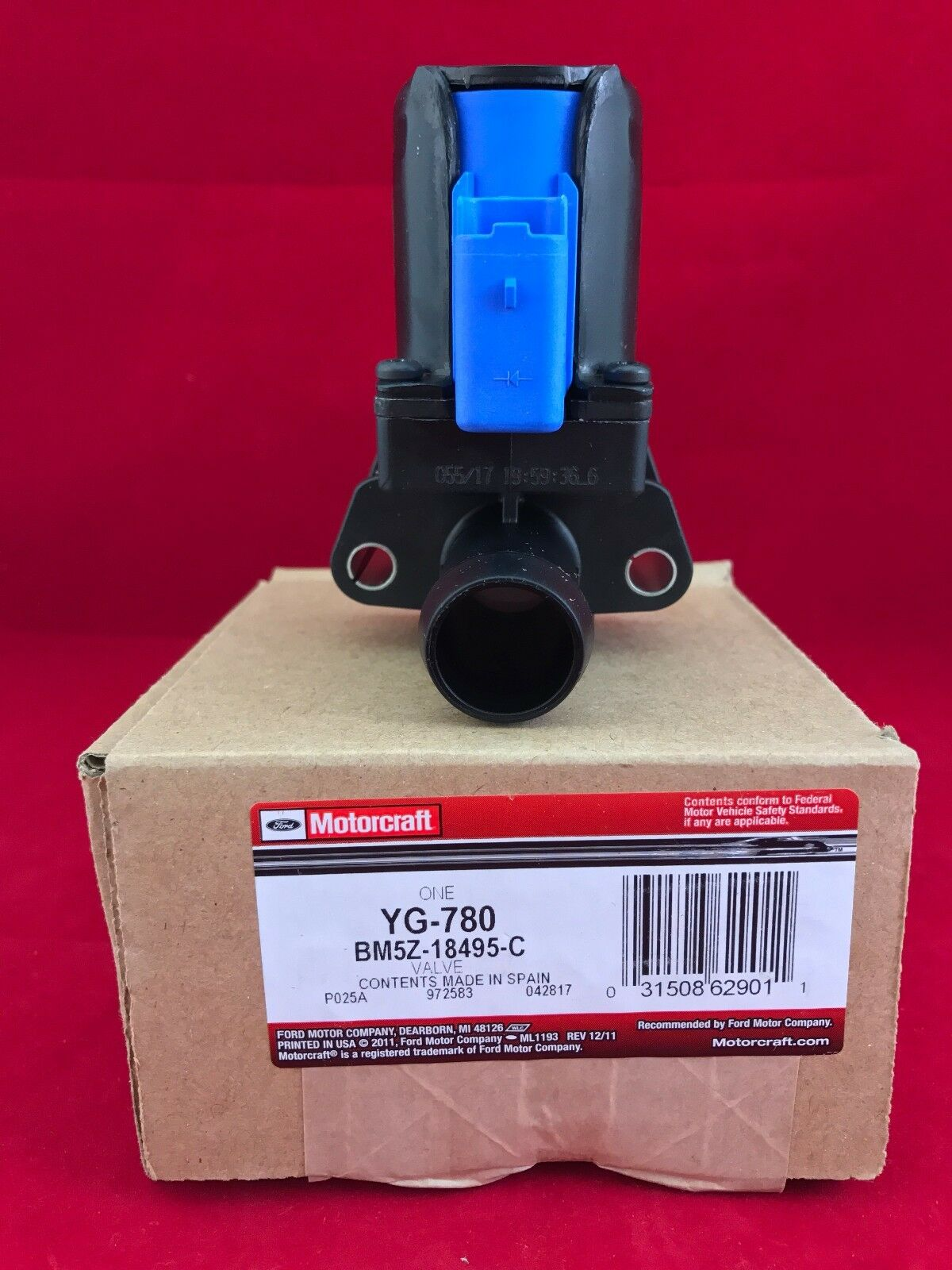 Genuine OEM Ford Water Valve BM5Z-18495-C