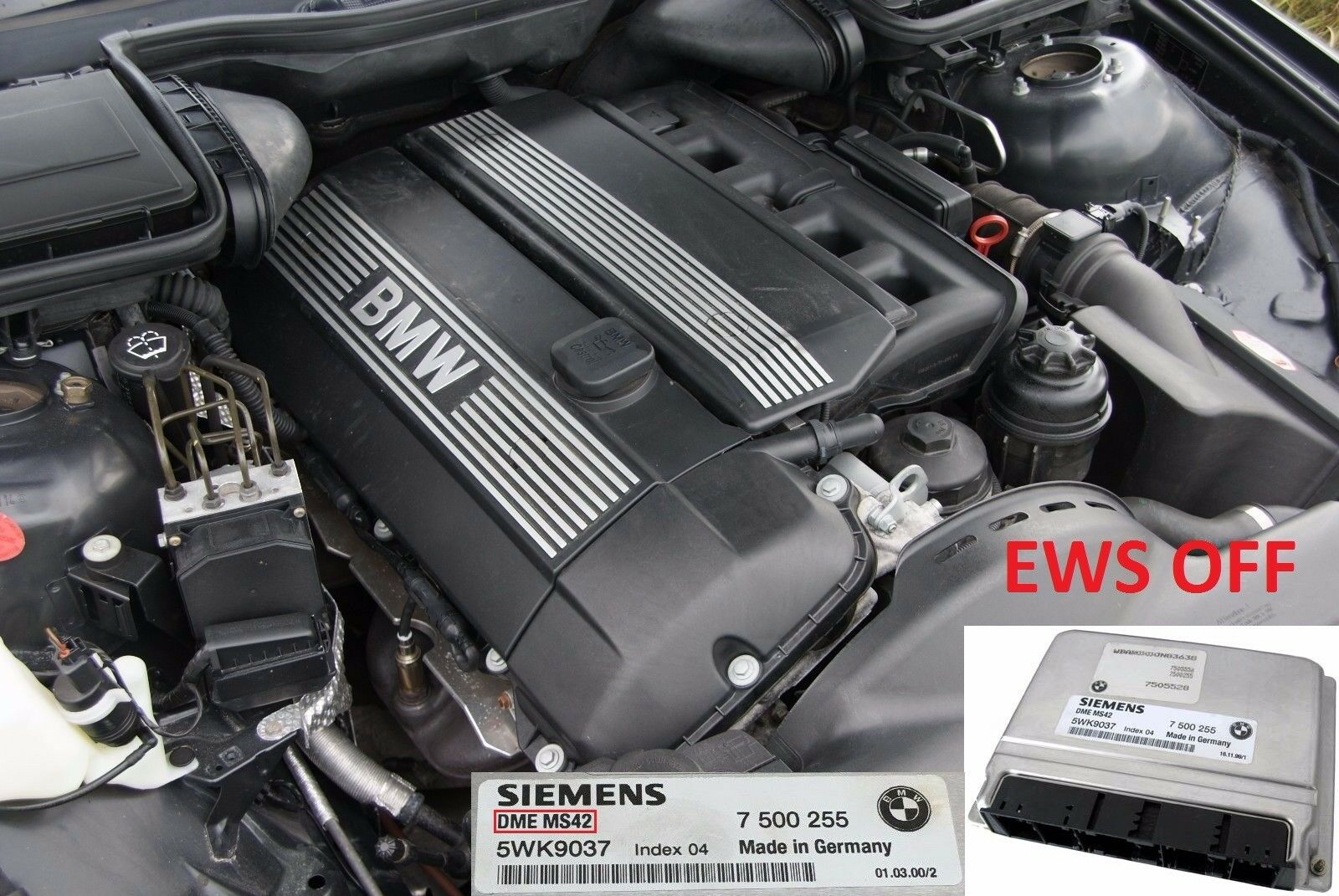 TUNING ECU dme MS42 Plug and Play for e46 M52tu BMW 328i 7100rmp and