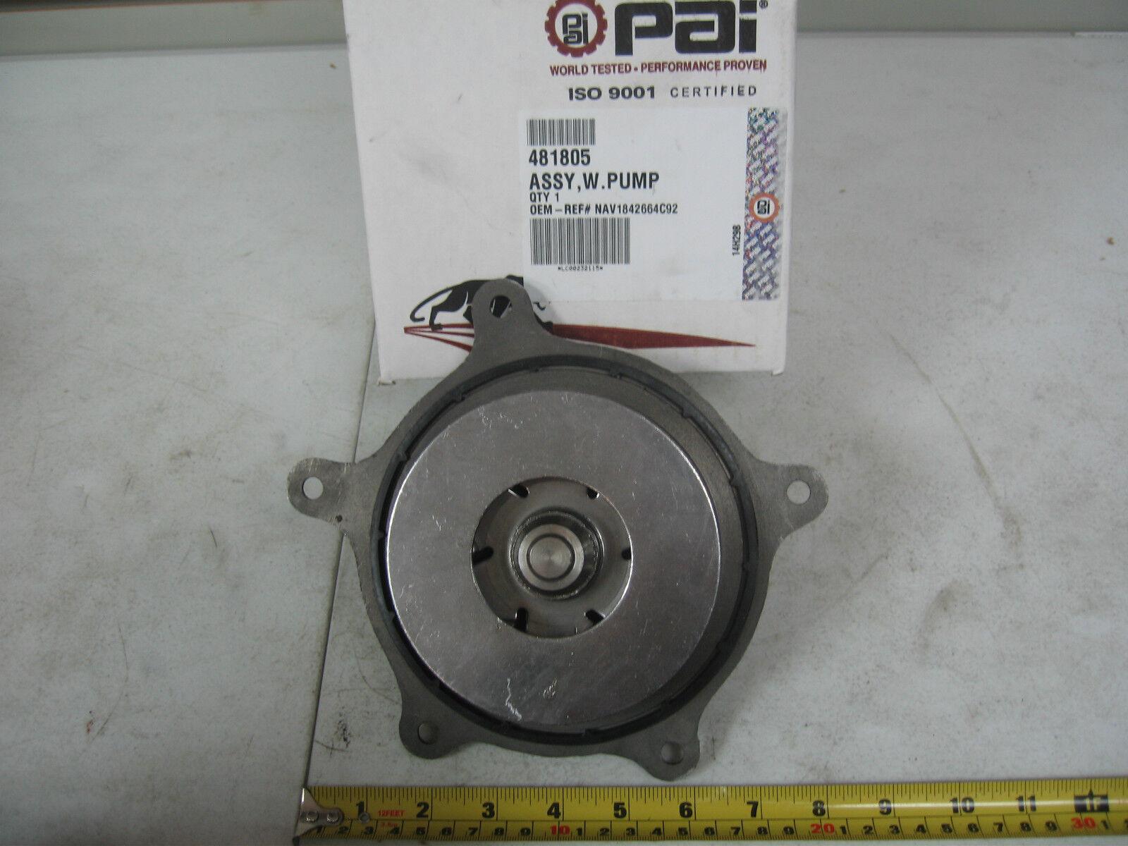 International DT466 DT466E & DT530E Water Pump Kit PAI PN 481805 Ref
