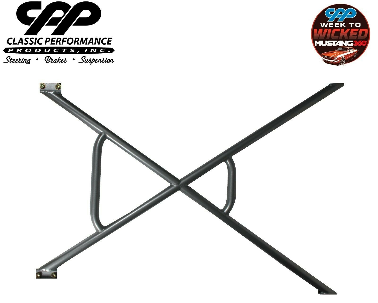 1964-70 FORD MUSTANG CPP X-FRAME CHASSIS BRACE For Sale