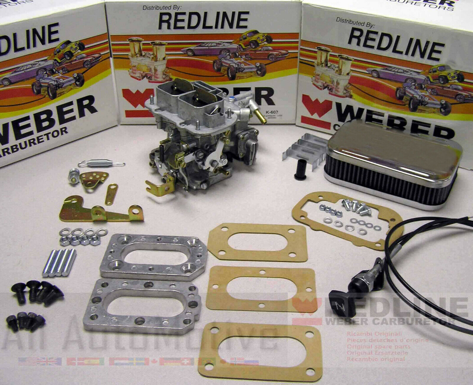 Weber 32/36 DGV Manual Choke conversion kit fits Datsun 510 610 620