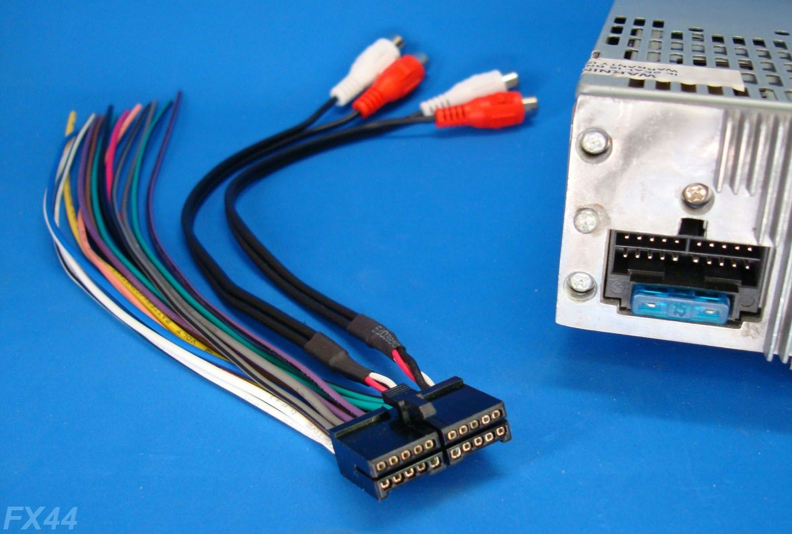 20 Pin Wire Harness Wiring Library Dvd Jensen Radio Stereo Power Plug Cd Player Unit Back Clip
