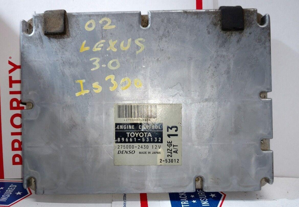 Lexus Is300 Ecu Car Wiring Diagram Projectgs Diy Pinout Jeff Pin Outgs300 01 05rev Source 02 Ecm Computer Number 89661 53132 For Sale