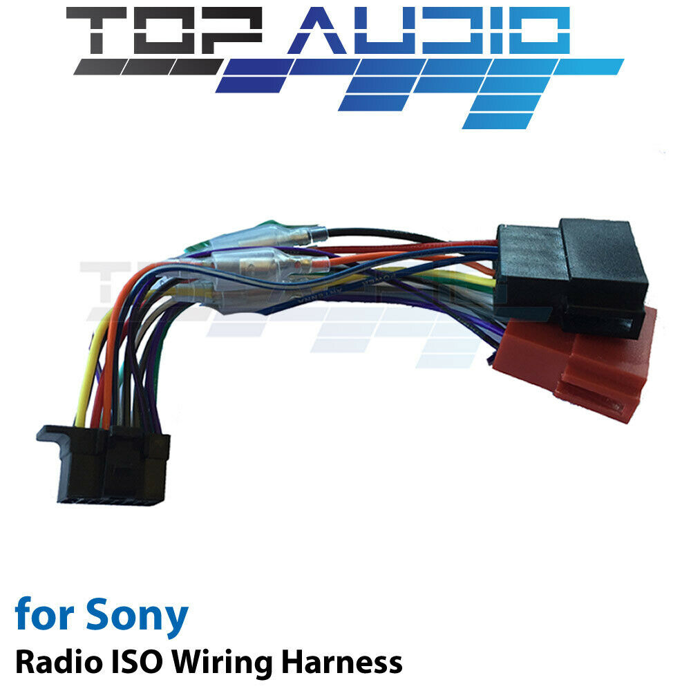 Sony Cdx G1150u Iso Wiring Harness Cable Adaptor Connector Lead Loom Wire Plug For Sale