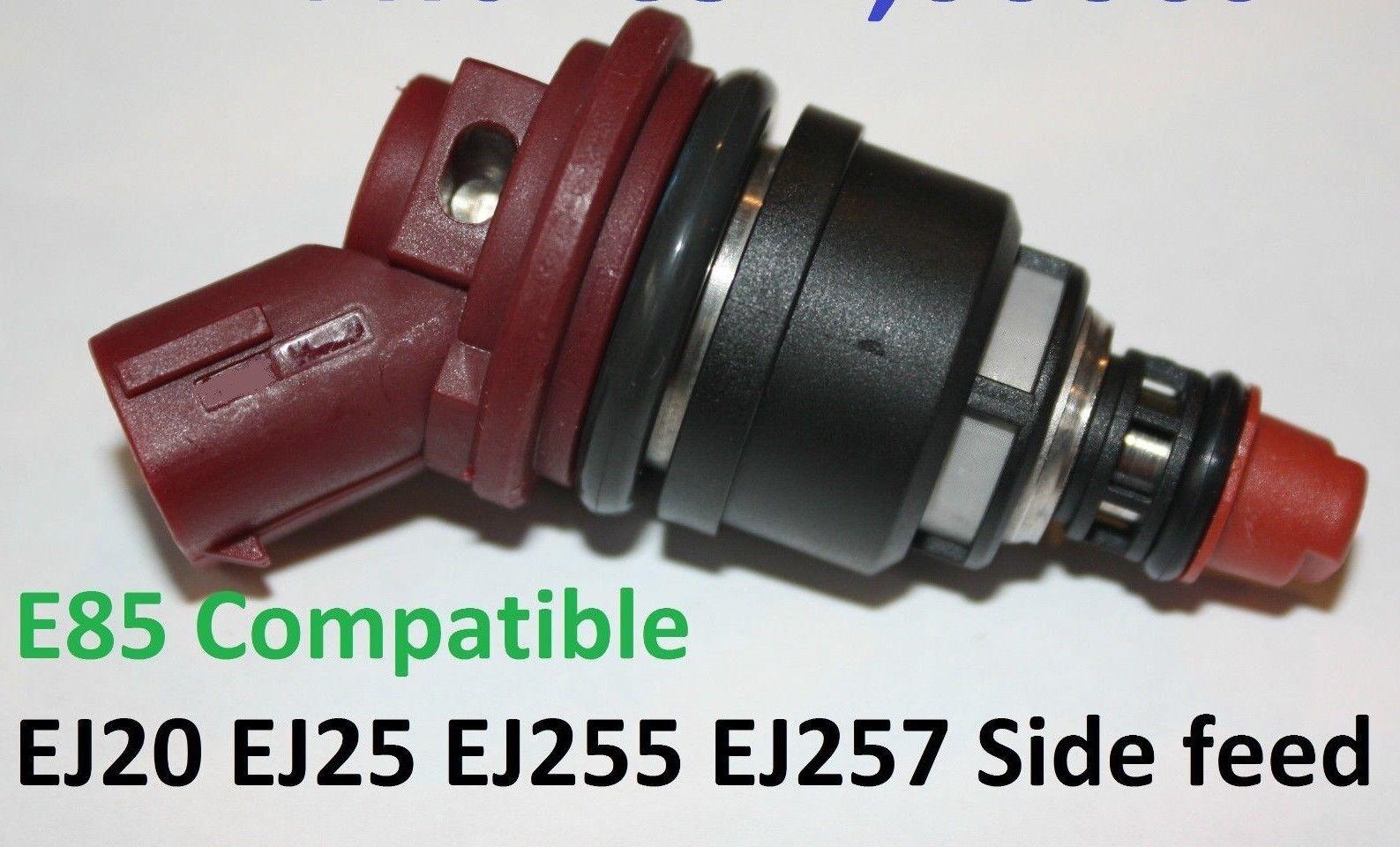 4 1000CC Side Feed Fuel Injectors fit SUBARU WRX STI EJ20 E85 EJ25