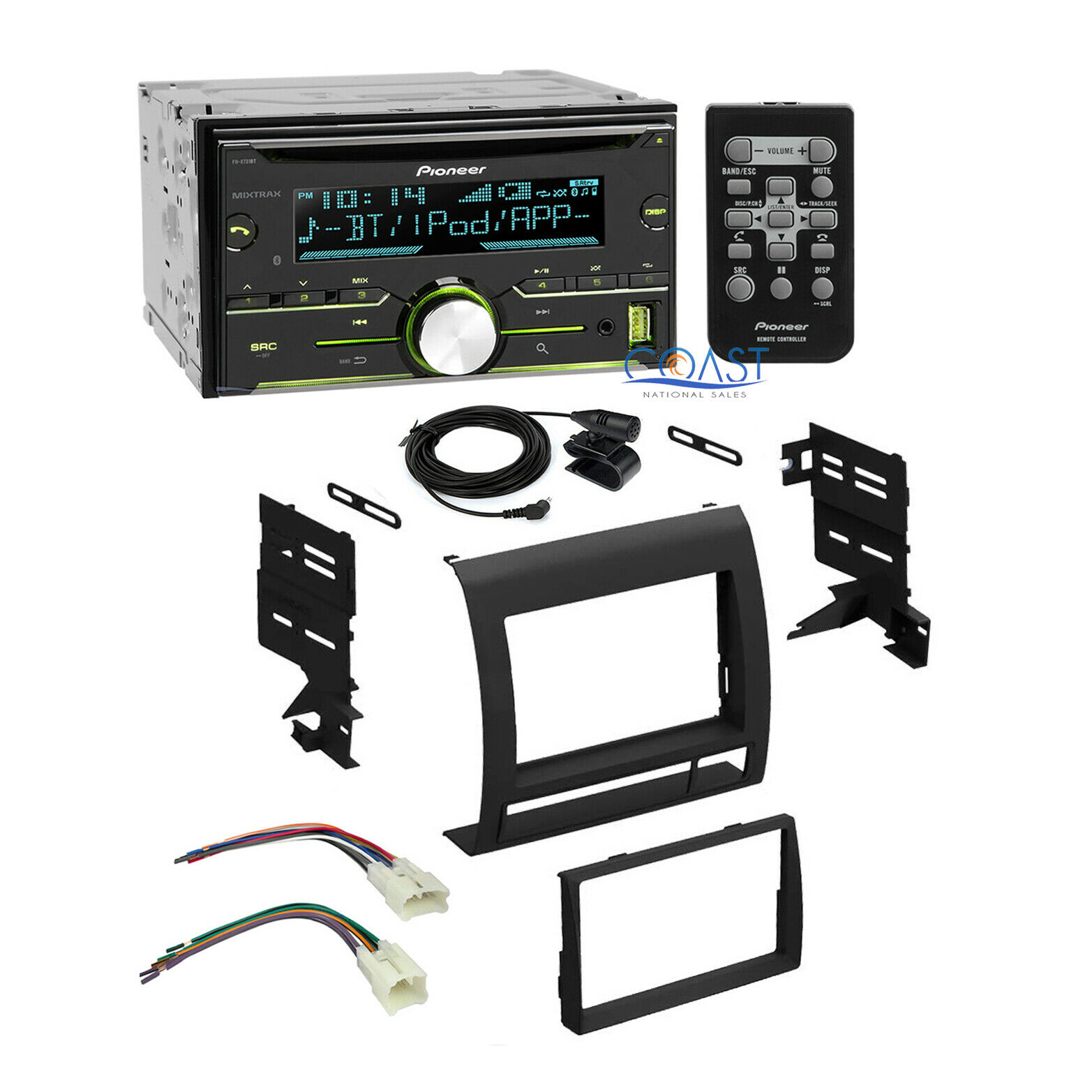 Pioneer Car Stereo Radio 2 Din Dash Kit Wire Harness For Toyota Wiring Xscorpion Tacoma 2005 11 Sale