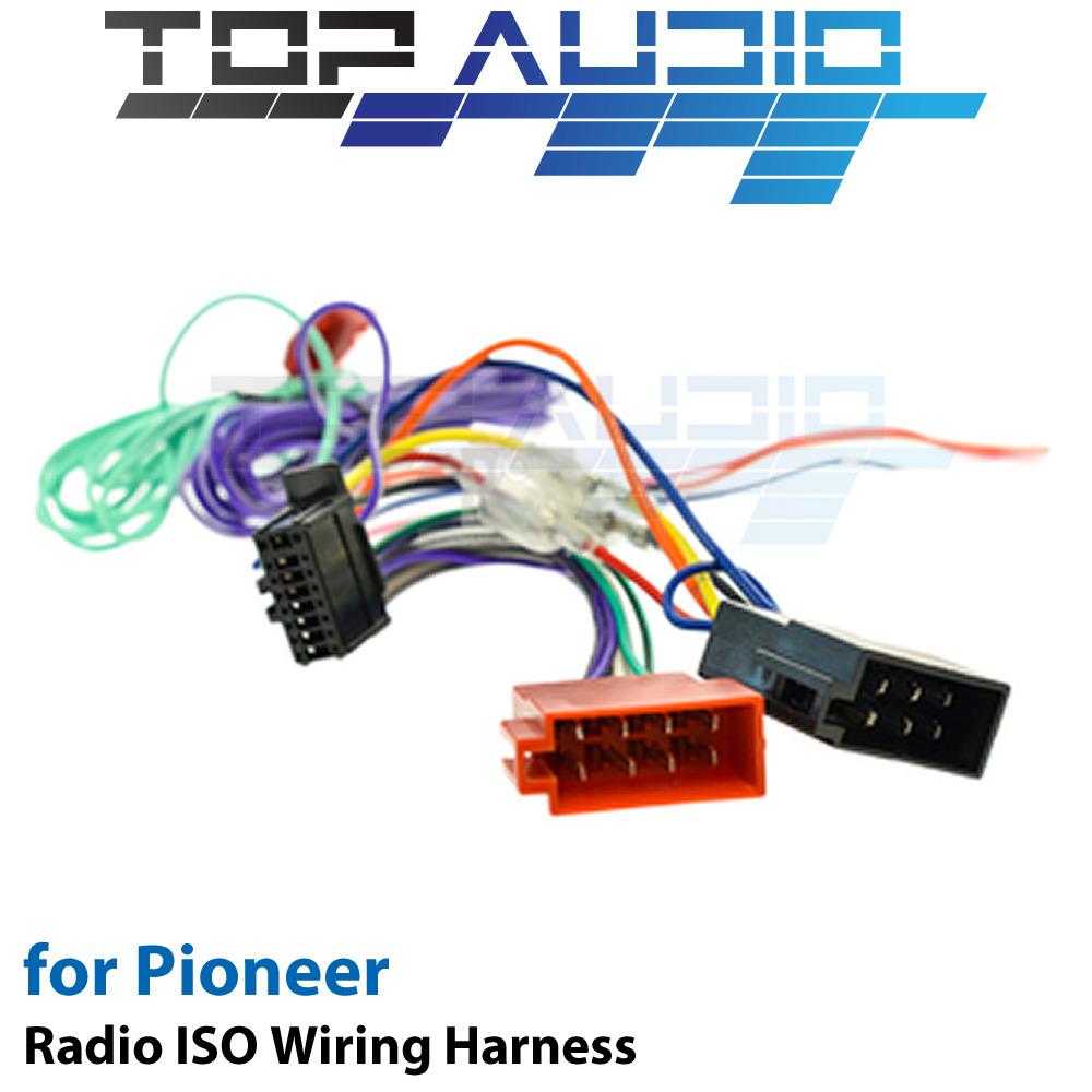 ISO Wiring Harness fit Pioneer pioneer wiring harness wiring diagram data