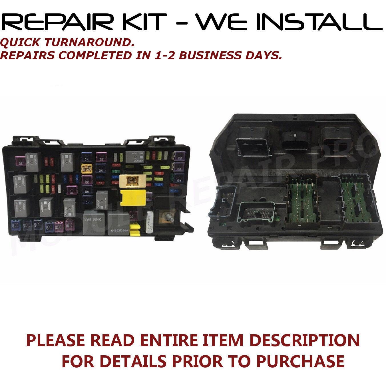 Repair Kit For 2010 2014 Dodge Caravan Chrysler Town Country 300 Fuse Box Price Tipm Sale