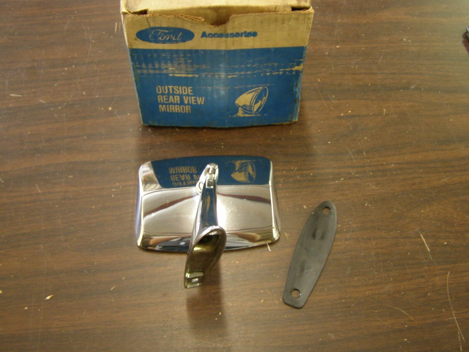 Nos Oem Ford 1980 1986 Truck Pickup Bronco Mirror 1981 1982 1983 1984 1985 F150 For Sale