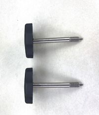 2 ea Jeep Wrangler JK Soft Top Door Surround Knobs With Pins