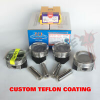 Turbo YCP Vitara Pistons & Rings Honda Civic D16Z6 D16Y8