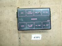 nissan 240sx s13 engine bay fuse box cover 89 90 91 92 93 94 type 2