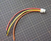 rockford fosgate punch amplifier 6 pin speaker wire harness plug