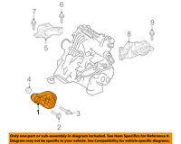 smart oem 08 15 fortwo engine motor mount torque strut 4512400109 Front Suspension Diagram